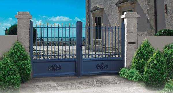 portails fontainebleau 77 cl tures pvc et aluminium portail cloture pvc portail cloture alu. Black Bedroom Furniture Sets. Home Design Ideas